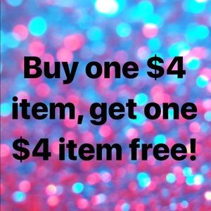 Accessories - ⭐️⭐️🔥All $4 Items BOGO FREE!!🔥⭐️⭐️